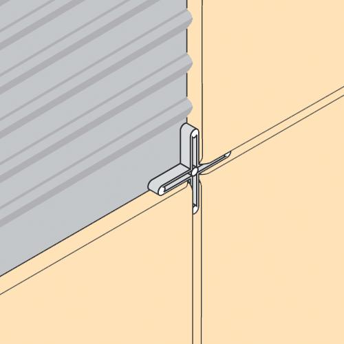 Wall floor spacer crosses 3mm long leg pack of 250 for 10mm floor tile spacers