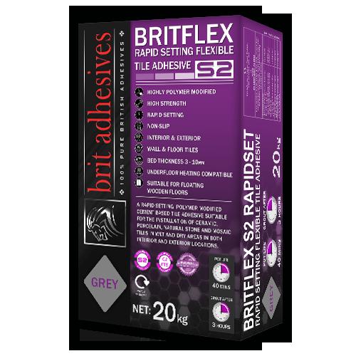 BritFlex S2 Rapidset - Grey