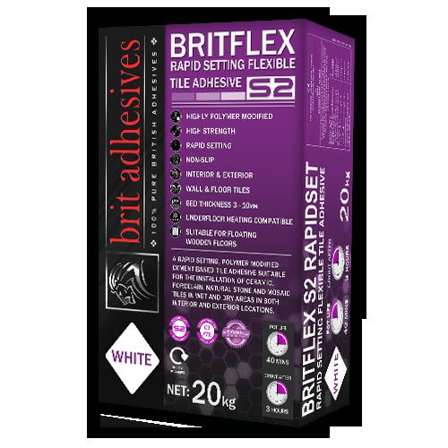 BritFlex S2 Rapidset - White