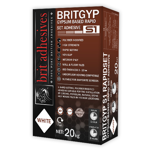 BritGyp S1 Rapidset - White