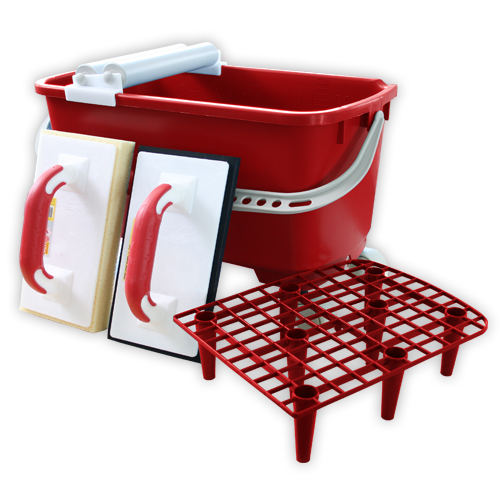 Contractor or Fixers Washset - Red Bucket