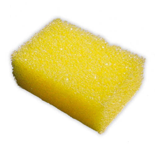 Epoxy Cleaning Sponge Yellow (Coarse)