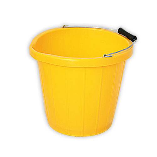 Yellow Builders Bucket Tiling Store