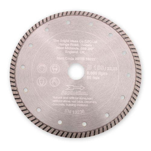 Ultra Thin Stone Cutting Turbo Blade