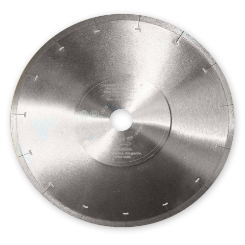 Ultra Thin Continuous Rim Diamond Blade