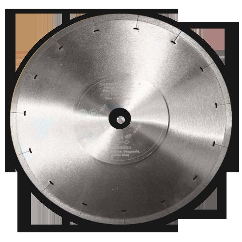 Ultra Thin Continuous Rim Diamond Blade