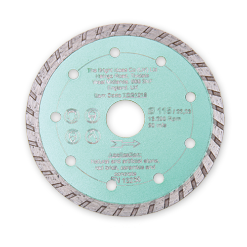 Dry Cutting Continuous Diamond Wheel