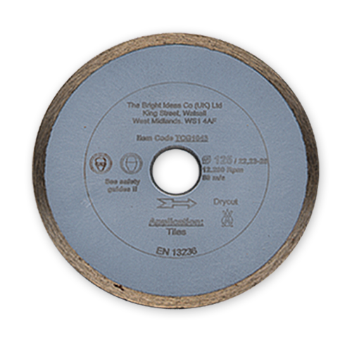 125mm Diamond Blade Dry Cutting