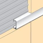 Aluminium Flat Listello