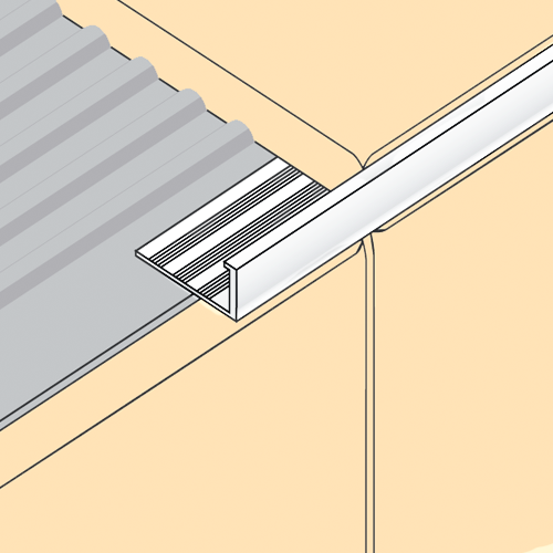 Aluminium Square Edge Trim