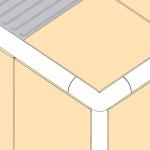 PVC Corner Piece