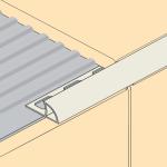 PVC Deluxe Round Edge Tile Trim