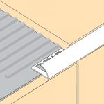 Aluminium Round Edge Tile Trim