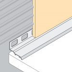 PVC Bathseal Under Tile Fixing