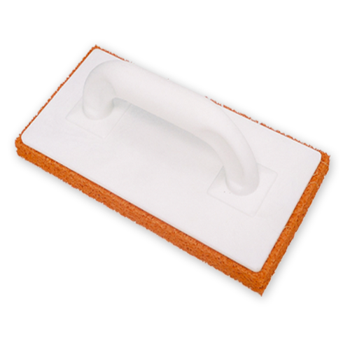 Orange Rubber Sponge Float 11 x 5""