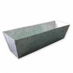 Galvanised Mud Pan