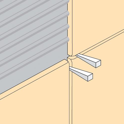 5 11mm tile spacer wedges pack of 250 tiling store for 10mm floor tile spacers