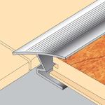 Tile to Laminate Transition Strip