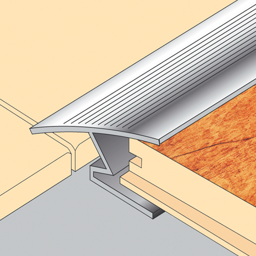 Tile to Laminate Transition Strip
