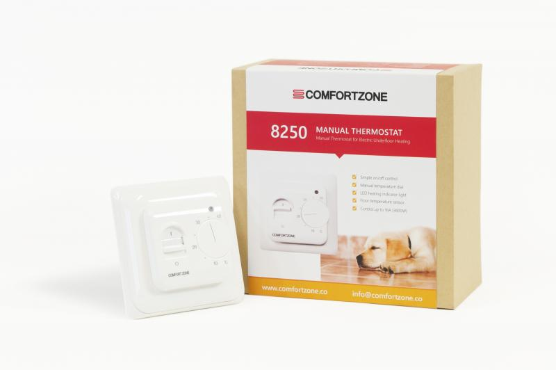 Comfortzone Manual Thermostat 8250