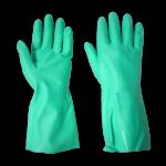 Nitrile Gaunlet Gloves